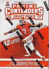 2017 Panini Contenders Draft Picks Football sealed Blaster box 42 cards 2 auto