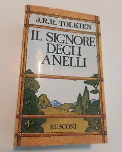 IL SIGNORE DEGLI ANELLI - J.R.R. TOLKIEN - RUSCONI 1984 - CON MAPPA
