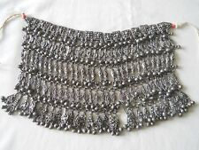 Antique Yemeni Bedouin 800 Silver Necklace / Face Veil