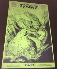 1994 STEPHEN BISSETTE'S TYRANT SIGNED original  PROMOTIONAL POSTER 11x17