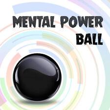 Close Up Super Mentalism Power Ball Reveal Mental Metal Ball In Hand Magic Trick