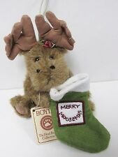 Boyd's #562724 Merry Moosemas * Pine Mountain Ornament * Brand New/Mint with tag