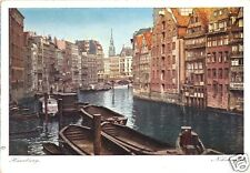 AK, Hamburg, Nikolaiflet, Farbdruck, um 1950