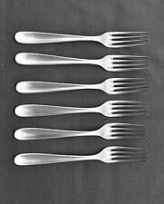 CHRISTOFLE 6 FOURCHETTES DE TABLE MODELE DAX (dinner fork)