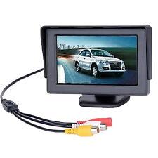 """4,3"""" TFT LCD Monitor Auto Mini Rückfahrkamera Camera DVD VCR Rückfahrsystem VG"""