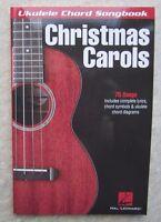 Ukulele Chord Songbook Christmas Carols *NEW*with Lyrics and chord boxes