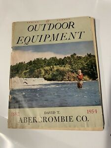 Vintage Abercrombie Co. Outdoor Equipment Catalog 1954