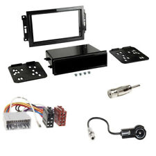 Jeep Grand Cherokee 1-DIN Autoradio Blende Einbaurahmen ISO Adapter Komplettset