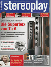 STEREOPLAY 8/2011-Nubert AW1300 Subwoofer; Cambridge Azur751 Blu-ray;Yamaha RX V
