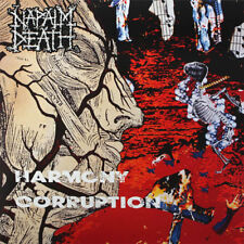 NAPALM DEATH - Harmony Corruption LP - Black Vinyl Album - SEALED Record Reissue