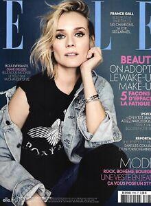 ELLE n°3760 12/01/2018  Diane Kruger_France Gall_Narcissiques_Hollysiz_Fatigue