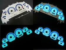 1999-2003 Ford Mustang Cobra Instrument Cluster White Face Glow Gauges 160mph