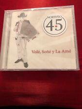 Norteno 4.5 Vole Sone y La Ame Cd New Sealed Nuevo