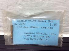 NOS Hornet Needle Valve Spray Bar 049 051 ALL Engine RC Model Spark Airplane