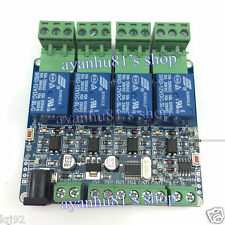 Modbus RTU 4 Way Relay Module DIY STM8S103 System 4 Road Input 485 Communication