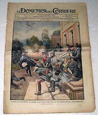 LA DOMENICA DEL CORRIERE 25 APRILE 1915 N 17 IL NEMICO CHE VIENE DALL'ARIA