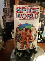 Spice World (VHS, 1998) - The Spice Girls Movie - w/Extra Footage - HTF OOP