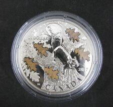 20 Dollar Canada Maple Leaf 2017 Silber Silver 1 oz Nutty Squirrel Mighty Oak