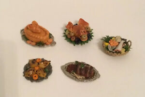 Dolls House Platters Of Food