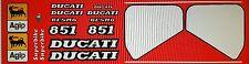 Ducati 851 SP3 Verniciatura Kit Decalcomanie
