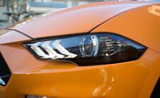 2018-2020 Mustang [PHACT] Partial Headlight Amber Corner Lens Vinyl Tint