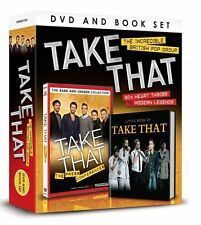 TAKE THAT DVD AND BOOK GIFT SET THE PRESS CONFERENCES RARE DVD & LITTLE BOOK