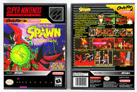 Spawn: The Video Game - Super Nintendo SNES Custom Case *NO GAME*