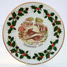 Vintage Royal Grafton Bone China Twelve Days of Christmas Plate 1978 Partridges