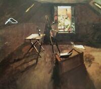 """""""STUDIO UNDER THE EAVES c1903"""" by HENRI MATISSE Period: Realism Dark Period"""
