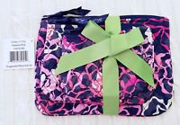 Vera Bradley Cosmetic Trio Cosmetic Travel Bags Set Katalina Pink NWT MSRP $40