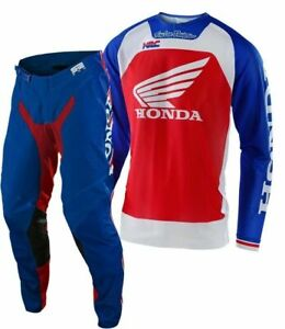 2021 TROY LEE DESIGNS TLD SE PRO AIR BOLDOR TEAM HONDA RACE KIT RED BLUE SUIT MX