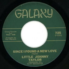 LITTLE JOHNNY TAYLOR 45: Since I Found a New Love / My Heart Is Filled..   VG(+)