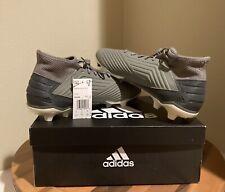 Adidas Predator 19.3 Fg Ef8208 Soccer Cleats - Men's Size 11.5 Gray