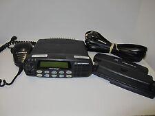Motorola CDM1550-LS+ Mobile Radio, UHF (403-470 MHz), 160 CH, 40W w/ Remote Mnt