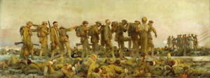 John Singer Sargent Gassed Poster Reproduction Paintings Giclee Canvas Print