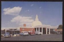 Postcard Charlottesville VA Pantops Restaurant 1950's