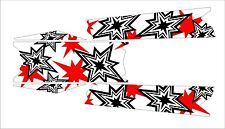 POLARIS RUSH PRO RMK  ASSAULT 120 144 155 163 STAR TOP TUNNEL DECAL STICKER 2