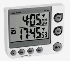 2 capi Digitale Timer cronometro TFA 38.2025 da cucina 99 STD funzione memoria