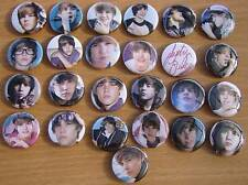 ~ Young JUSTIN BEIBER 25 AWESOME color pins badges ~