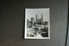 Old Vintage Mini Photograph Real Photo Notre Dam Church D'armes Montreal Canada