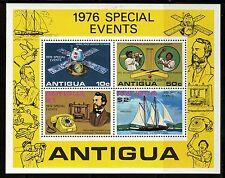 Antigua   1976   Scott #458a   Mint Lightly Hinged Souvenier Sheet