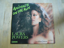 45 tours laura powers animal's on the run