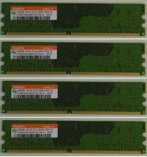 4 x Hynix DDR2 RAM 256MB PC2-3200 HYMP532U64P6-E3 240pin Non ECC gebraucht