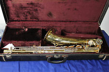 Vintage 1957 The Martin Committee Tenor Saxophone with case