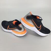 Nike Renew Run Black Orange Running Athletic Shoes Multiple Sizes