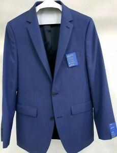 New Men's Apt 9 Extra Slim Fit Blue Jacket Premier Flex NWT Size 38R