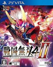 Sengoku Musou 4-II  PS Vita SONY JAPANESE NEW JAPANZON
