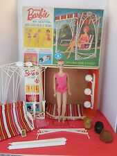 Vintage MISS BARBIE - DOLL, BOX & ACCESORIES- Excellent to near Mint Condition!