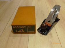 Stanley no. 4 1/2 plane, in original box, excellent condition.
