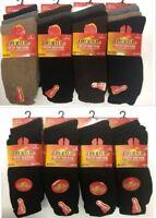 Men/'s New Cushion Sole Socks Wool Rich Warm Sock UK Size 6-11 M 709 Lot